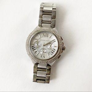 Michael Kors Camille Stainless Chronograph Watch